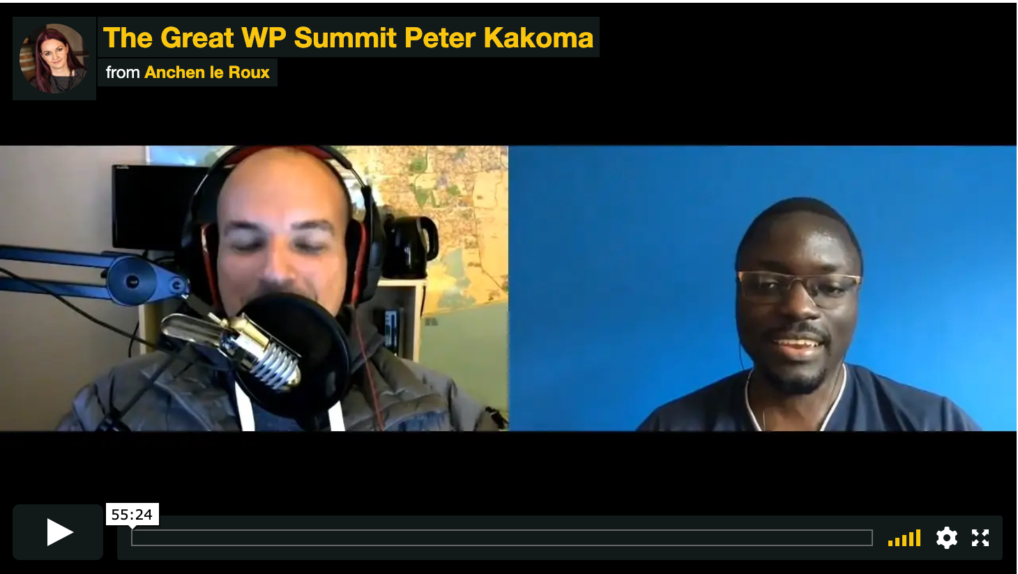 WordPress virtual summit talk
